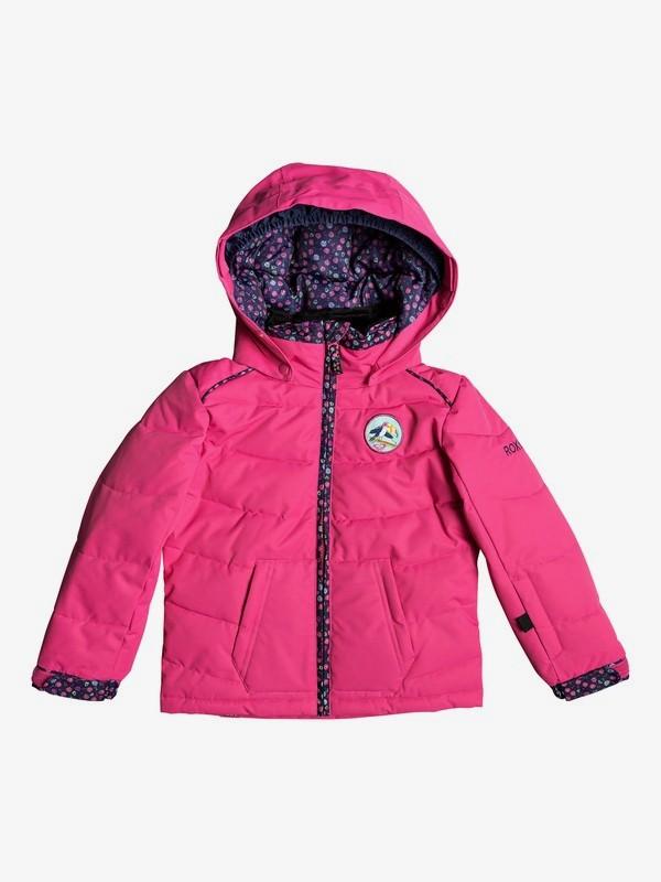 0 Anna - Chaqueta para Nieve para Chicas 2-7 Rosa ERLTS03006 Roxy