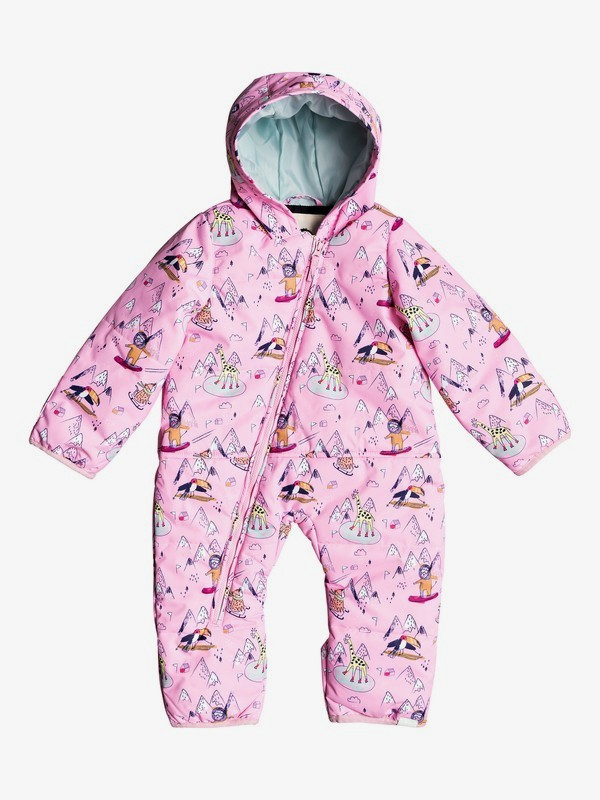 0 Rose - Traje para Nieve para Baby Girls Rosa ERLTS03007 Roxy