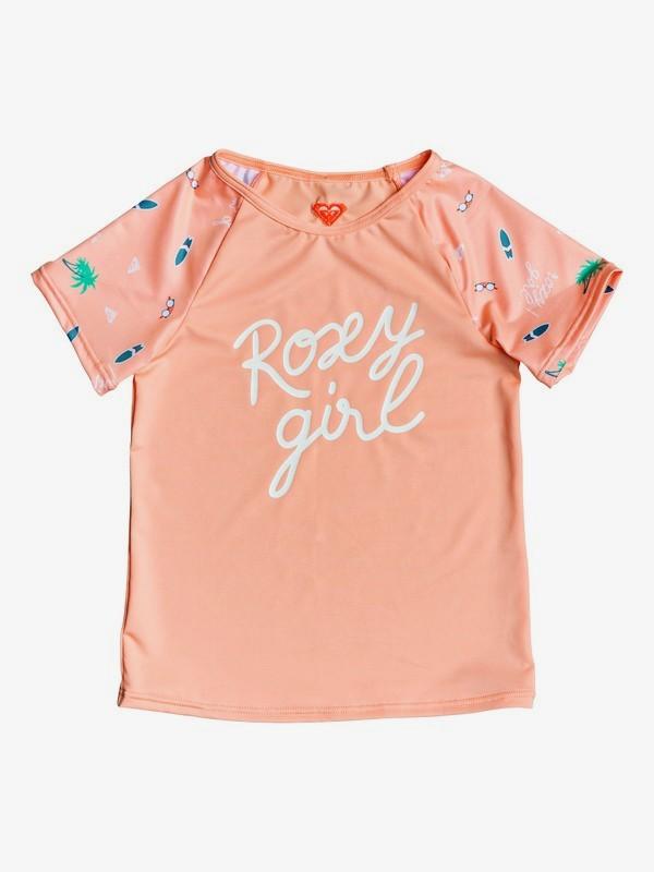 Salty But Sweet - Short Sleeve UPF 50 Rash Vest for Girls 2-7  ERLWR03112