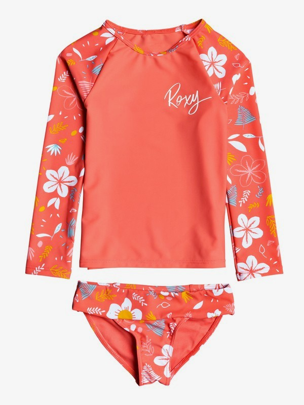 Fruity Shake - Long Sleeve UPF 50 Rash Vest Set for Girls 2-7  ERLWR03123