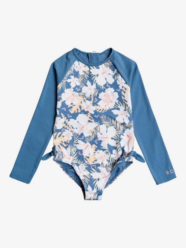 Swim Lovers - Long Sleeve UPF 50 One-Piece Rashguard for Girls 2-7  ERLWR03175
