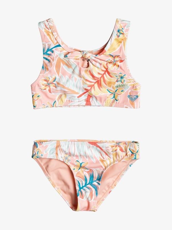 Friendly Story - Crop Top Bikini Set for Girls 2-7  ERLX203137