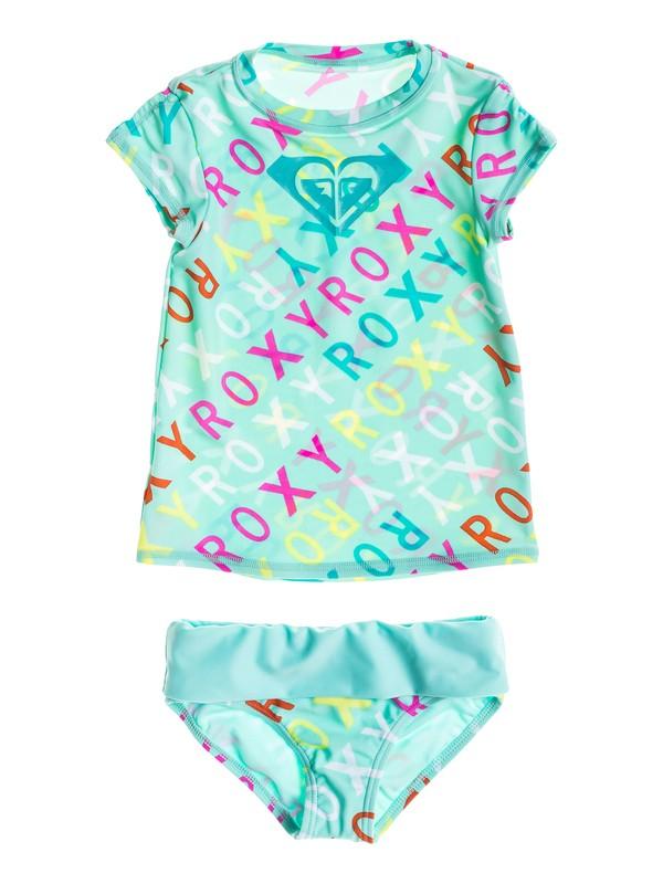 Girl's Rash Guard Swim Set RRS58616
