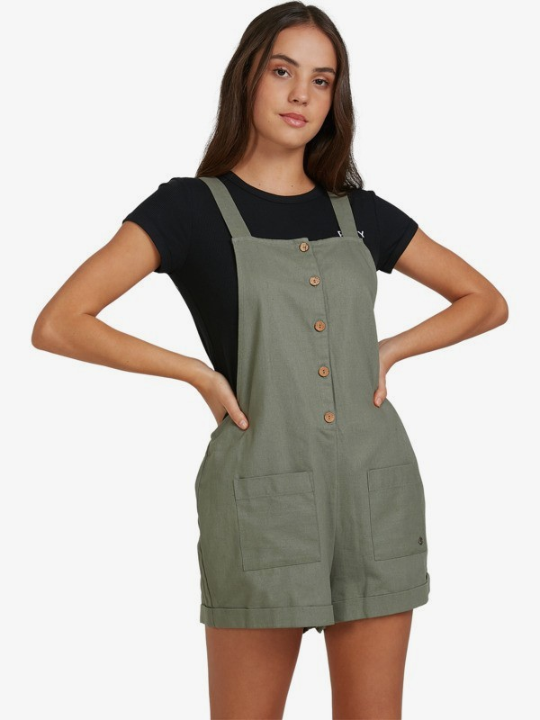 Rising Direction - Strappy Playsuit for Women  URJWD03073